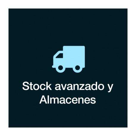 Stock avanzado y Almacenes